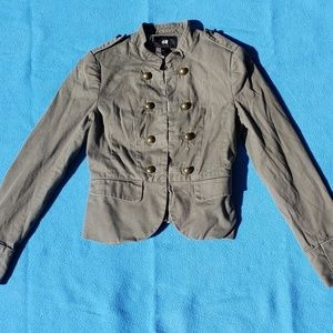 H&M Military Motorcycle Blazer